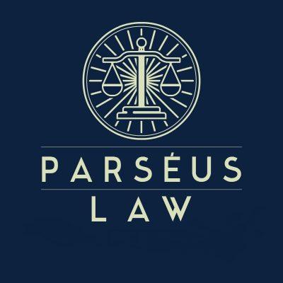 Parséus law AB logo